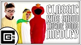 Classic Kids Show Theme Song Medley (ft. DAGames) | CG5