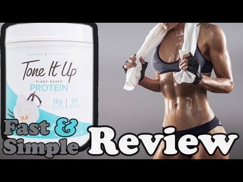 Tone It Up: Plant Based Protein Supplement Review