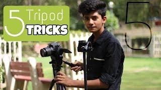 5 Tripod Tricks For Beginners l How To Shoot B- Rolls l In Hindi