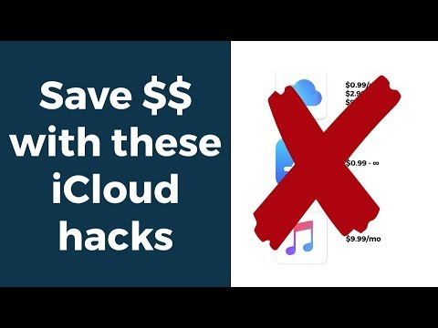 Save $$ with iCloud Family Sharing