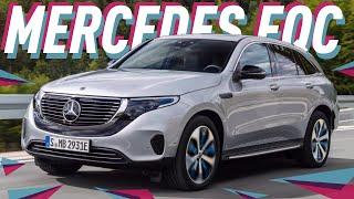 Mercedes EQC 2019 с Женевского автосалона