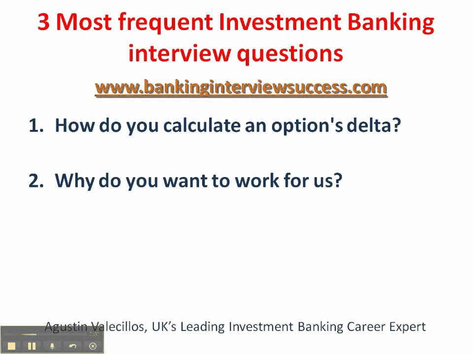 Investment banking interview questions glassdoor company  :: unadacma ml