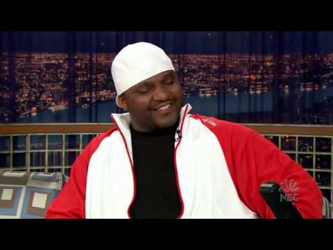 Conan O'Brien 09.may.2006 Aries Spears doing impressions!