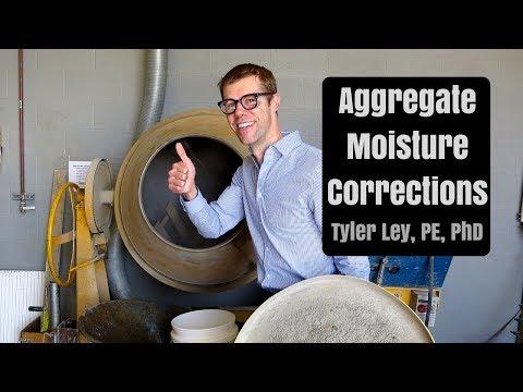 Aggregate Moisture Corrections pt. 1