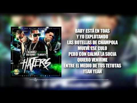 J Alvarez ft Bad Bunny y Almighty – Haters (Remix) Letras