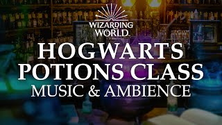 Harry Potter & Fantastic Beasts   Hogwarts Potions Class Music & Ambience, Collab with ASMR Weekly