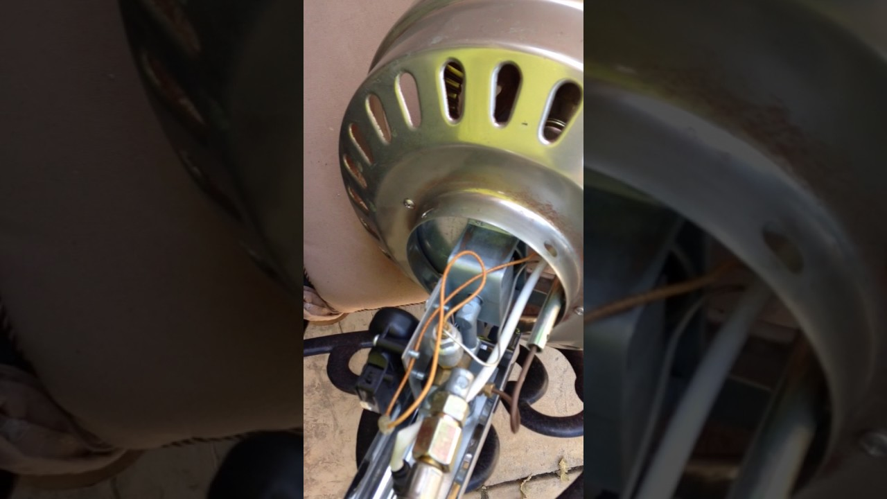 Patio Heater Pilot Light Won\'t Start or Stay Lit - YouTube