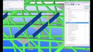 Tekla Structures. Преимущества компонентных моделей. часть 3