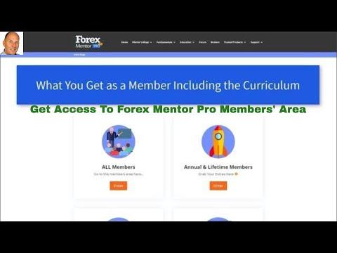 Forex mentor pro members area - blogger.com