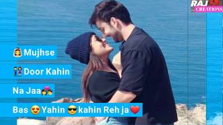 Romance Full Screen Status || female version  || Love whatsapp status || Raj creations