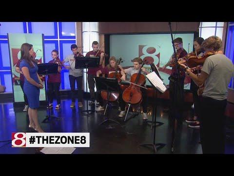 Brebeuf Jesuit Preparatory School band performs on Daybreak