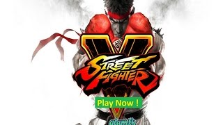 Street Fighter 5 Gameplay 2016 Full match on Pc Ps4