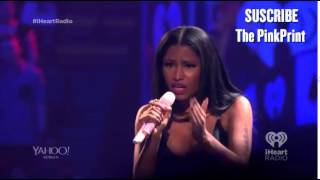 Nicki Minaj Raps Flawless Acapella Live At iHeartRadio