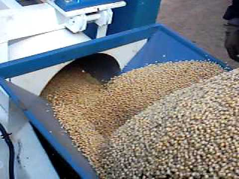 Nrc Grain Unloader Conveyor System Avi Youtube