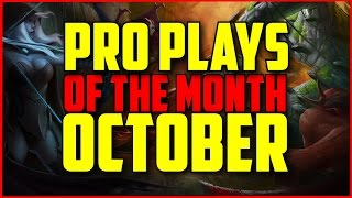 DOTA 2 - Pro Plays of the Month: October gameplay