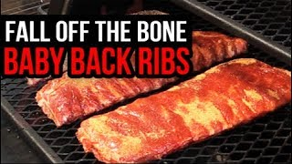 """Baby Back Ribs """"Fall-Off-The-Bone"""" on Lone Star Grillz Offset Smoker"""
