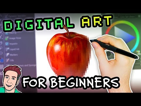 Digital Art for BEGINNERS: Getting Started with Digital Art