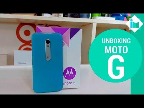Motorola Moto G 3rd gen - Unboxing