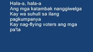 Gobyerno sa Kadagatan by Yoyoy Villame with lyrics