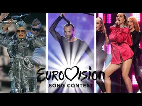 Eurovision: Worst Dressed Singer Each Year (Barbara Dex Award)