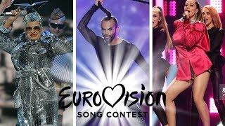 Eurovision Worst Dressed Singer Each Year (Barbara Dex Award)