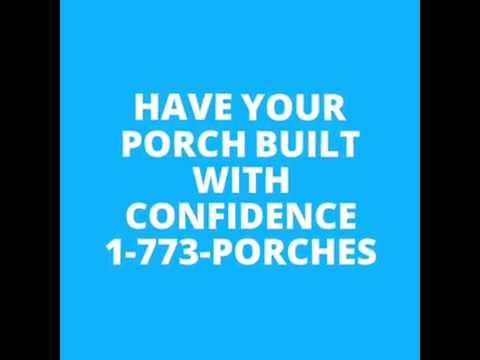 1-773-PORCHES | Chicago Porch Builder