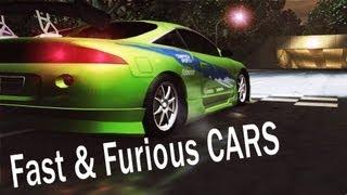 NFS Underground 2 - Fast & Furious 1 Cars