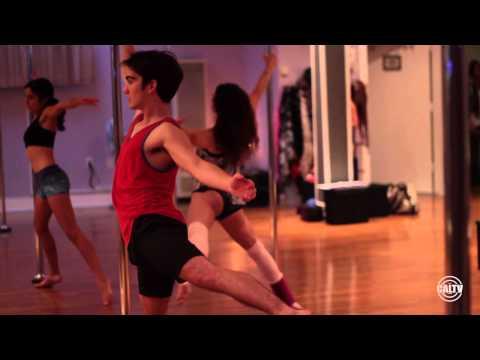 CalTV E: Saba and Martin Go Pole Dancing