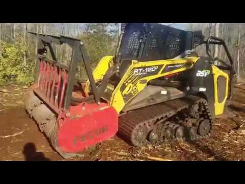 Forestry Mulching A Turtle. . . Almost