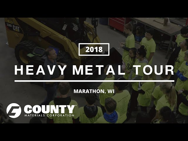 Heavy Metal Tour 2018 at County Materials