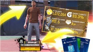 1 MILLION VC IF THIS ROOKIE HITS A FULL COURT SHOT ! 60 OVERALL 1 SHOT + 1,000,000 VC ! FOR NBA 2K19