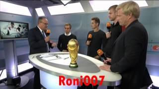 Emotionaler Abschied für Weltmeister-Quartett: Klose, Lahm , Mertesacker und Hansi Flick -
