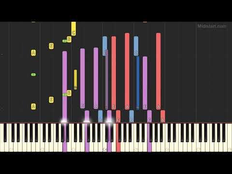 Vladimir Cosma - Le Jouet [Ver.2] (Instrumental Tutorial) [Synthesia]