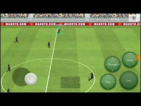 MARSEILLE TURN AND juggling tutorial PES 2018 MOBILE - YouTube