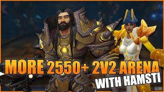 2550+ Arms Warrior / Holy Paladin 2v2 Arena (480 iLvl) - WoW BFA 8.3 Season 4 PvP