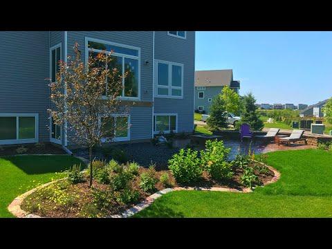 Backyard Landscape Job Done In 4 Days