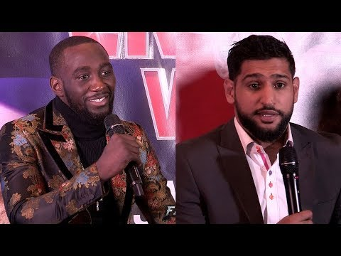 FULL PRESS CONFERENCE - TERENCE CRAWFORD VS AMIR KHAN - KICK OFF IN LONDON