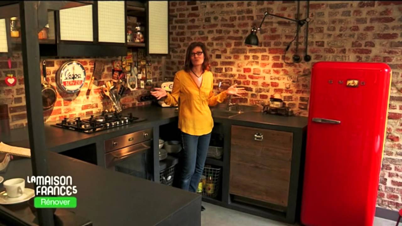 la maison france 5 r nover 18 mars 2015 elodie sagot architecte d 39 int rieur youtube. Black Bedroom Furniture Sets. Home Design Ideas