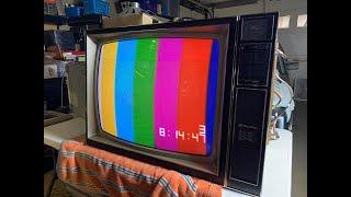 Building a 1976 Heathkit GR2000 25' Color TV