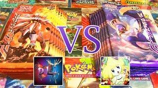 Ouverture de 18 boosters Pokémon SOLEIL ET LUNE ! David Lafarge VS MissJirachi !