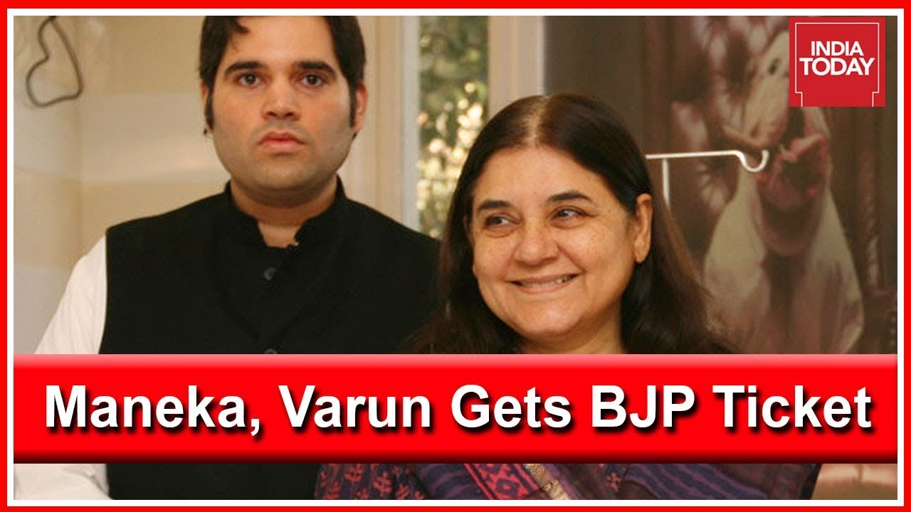 Maneka Gandhi & Varun Gandhi Get BJP Ticket For Lok Sabha Polls