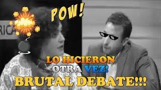 Debate caliente de Agustín Laje y Nicolás Márquez contra 4 zurdos