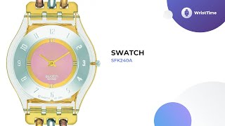 Classy Swatch SFK240A Watches for Woman Review & Review