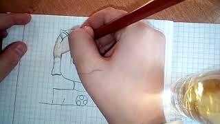 Обзор тетради с рисунками ????????????????