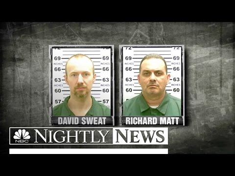 Manhunt For Two Killers In New York Prison Escape | NBC Nightly News