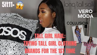ASOS TALL GIRL HAUL: TRYING TALL CLOTHING BRANDS FOR THE 1ST TIME