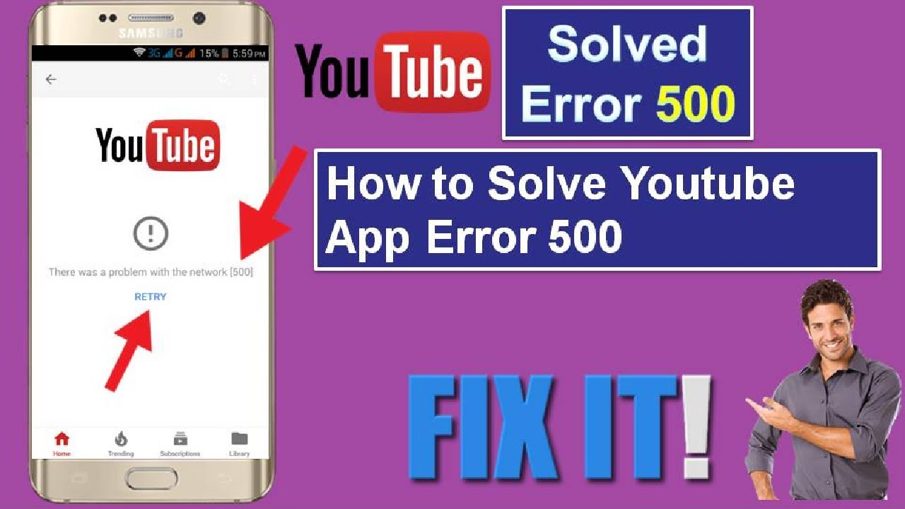 How to Fix Youtube App Error 500 in Android Phone || in Hindi