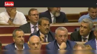 Депутат Рады Антон Киссе рассмешил коллег при попытке выступить на украинском языке