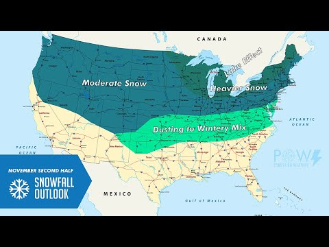November Second Half Snowfall - POW Weather Channel