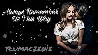 Baixar lady gaga - always remember us this way // tłumaczenie